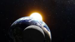 The-earth-moon-and-sun