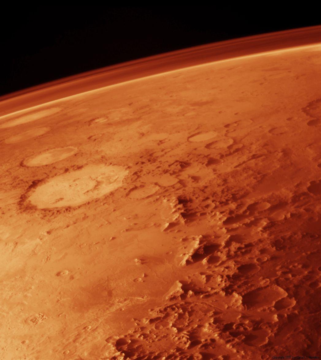 La teoría de los microbios en Marte