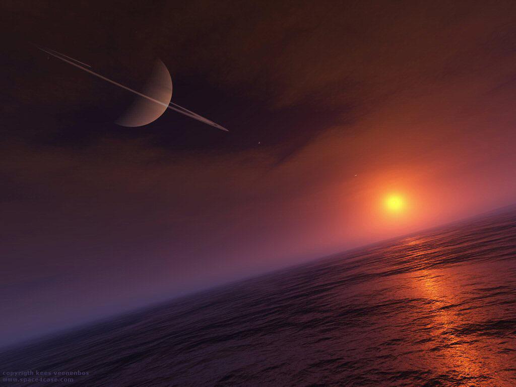 Surfing on Titan