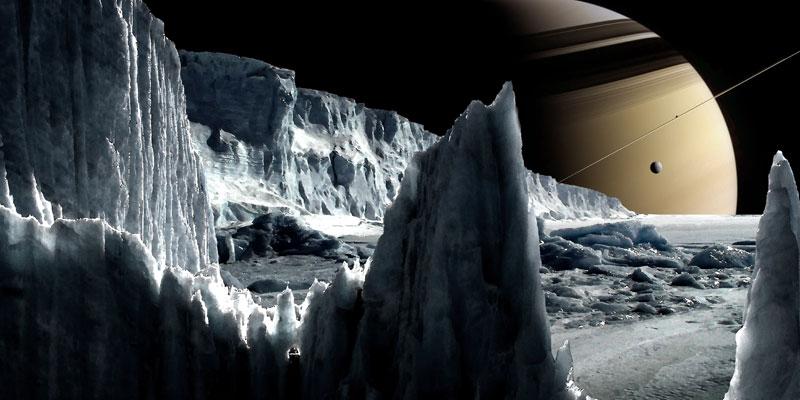 Life on Enceladus?