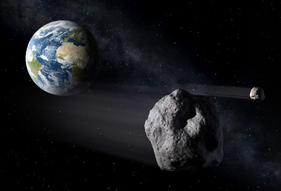 Earth's Upcoming Close Encounter With New Asteroid