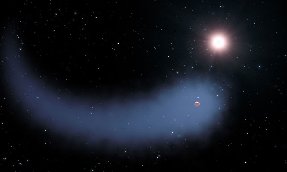 Exoplanet, Comet, or Both?