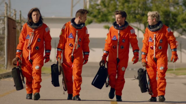 One Direction's New Music Video Collaboration with NASA