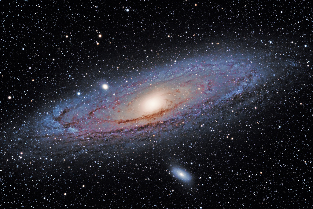 The Andromeda Galaxy- Image Credit: Joel Tonyan