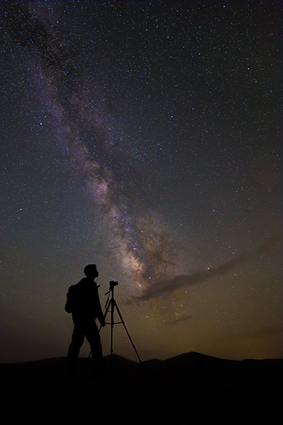 The Astrophotographer- Via: Mehdi Momenzadeh