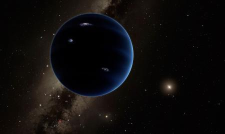 Artist's rendition of Planet Nine. Credit: Caltech/R. Hurt (IPAC)