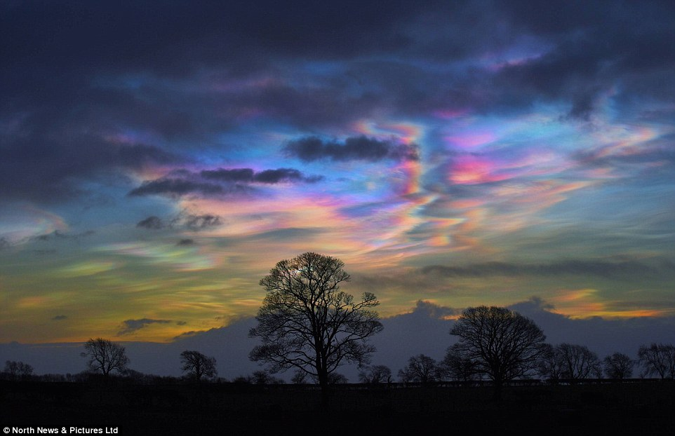 Beautifully Destructive Nacreous Clouds