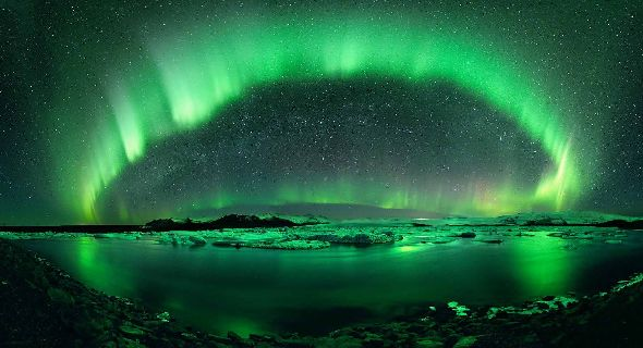 Aurora Borealis- Via National Geographic