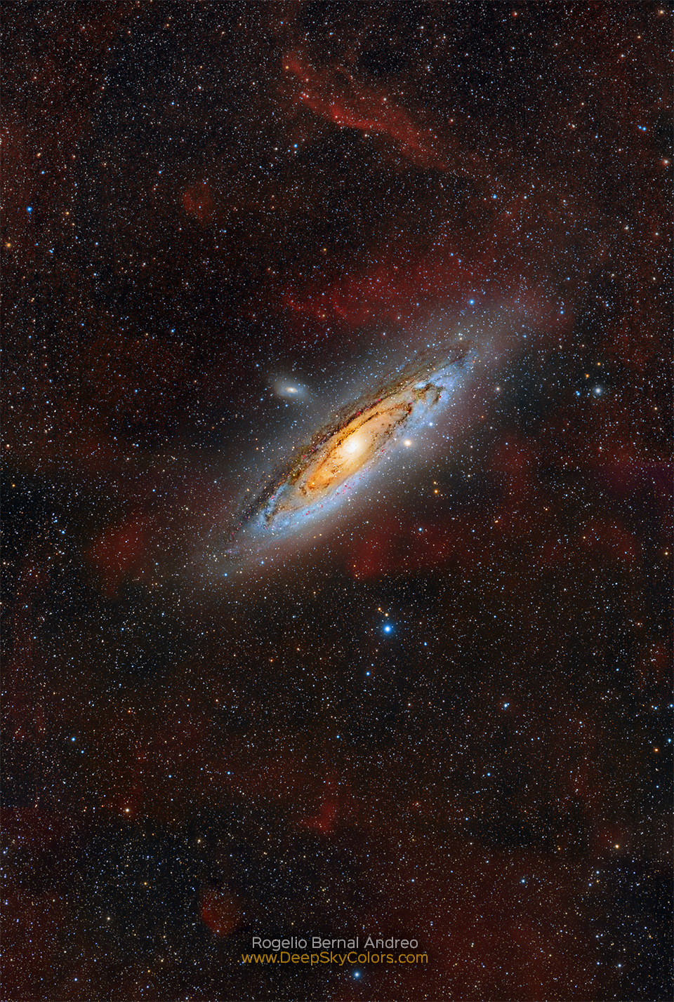 The Andromeda galaxy. Image Credit & Copyright: Rogelio Bernal Andreo (Deep Sky Colors) Click to read more.