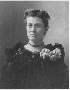 Williamina Fleming. Courtesy Curator of Astronomical Photographs at Harvard College Observatory.