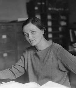 Cecilia Payne at Harvard. Photo: Smithsonian Institution